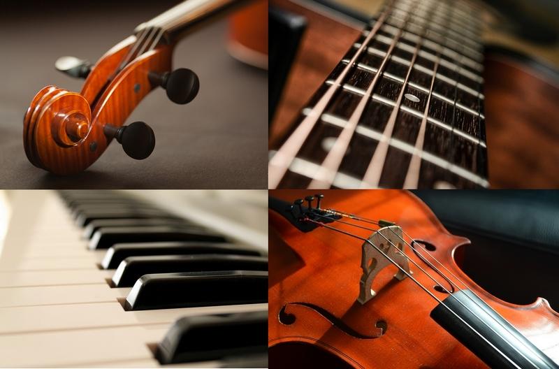 collage instrumente